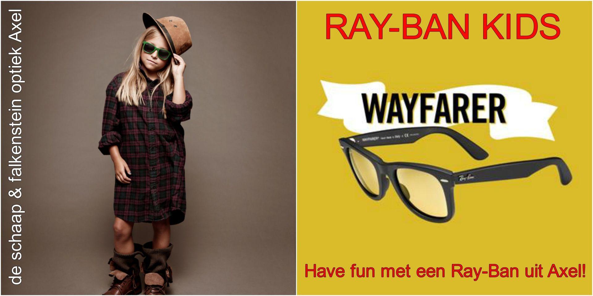Collage Ray-Ban kids! Have fun met een Ray-Ban uit... - voor website & fb - met winkelnaam