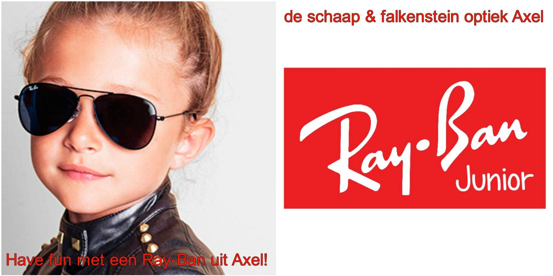 Collage Have fun met een Ray-Ban uit Axel kids 2 - voor website & fb - met winkelnaam