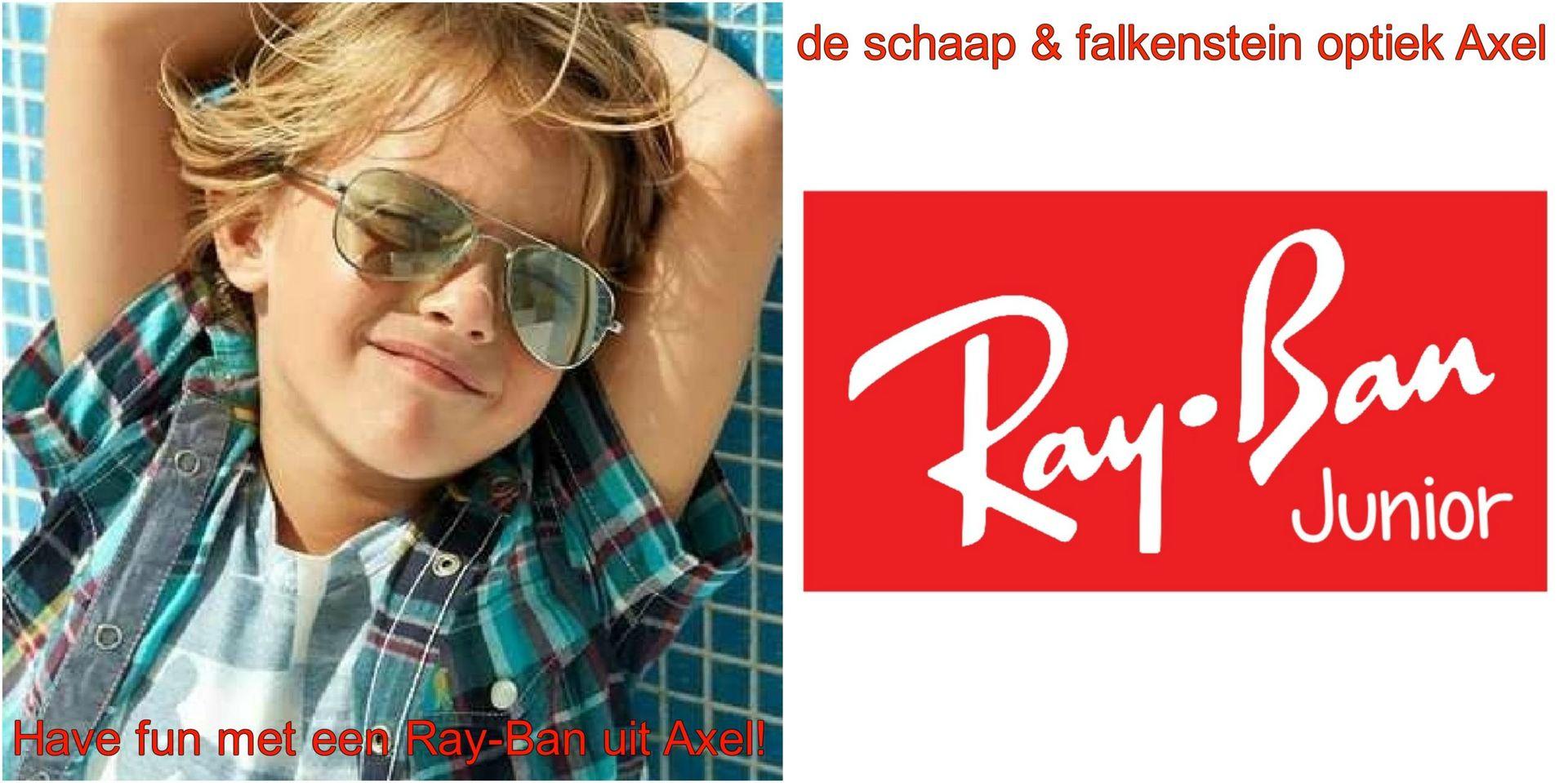Collage Have fun met een Ray-Ban uit Axel kids- voor website & fb - met winkelnaam - kopie