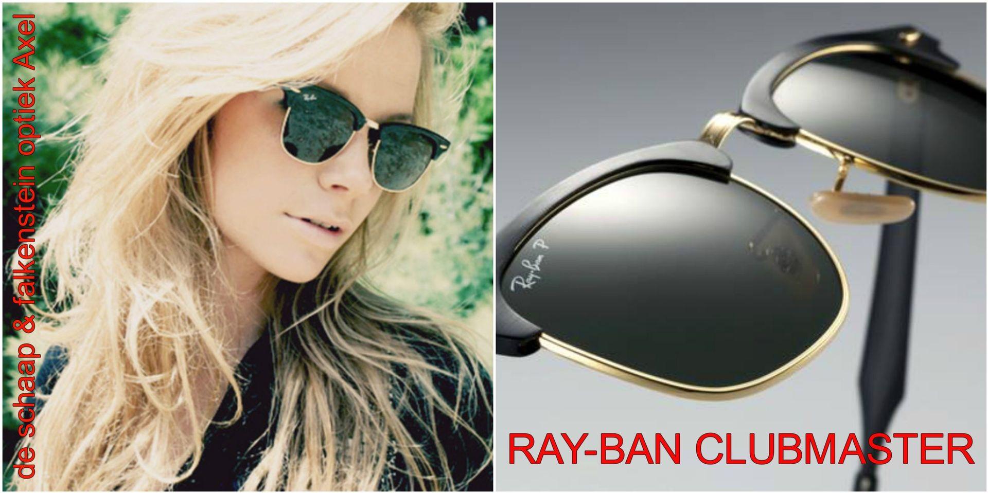 Collage Ray-Ban clubmaster 2 - voor website & fb - met winkelnaam