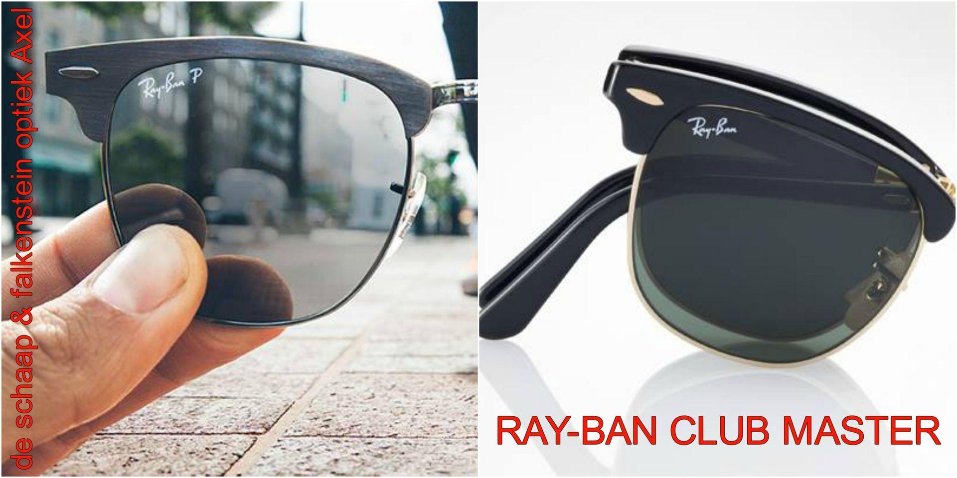 Collage Ray-Ban clubmaster - voor website & fb - met winkelnaam