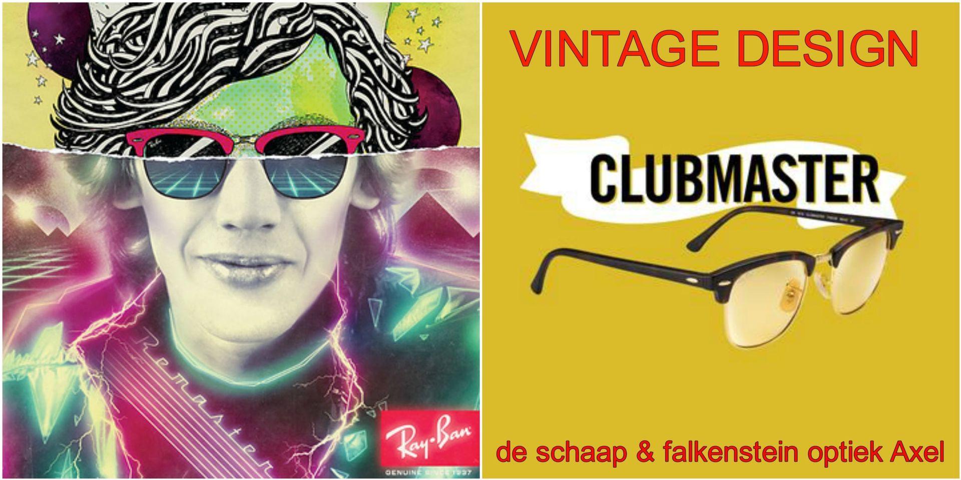 Collage Vintage Design Ray-Ban - voor website & fb - met winkelnaam